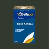 Tinta Acrílica Acetinado Premium C91 Verde Grama 16L Bellacor