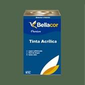 Tinta Acrílica Acetinado Premium C92 Verde Folha 16L Bellacor