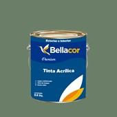 Tinta Acrílica Acetinado Premium C93 Verde Botânico 3,2L Bellacor