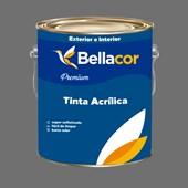Tinta Acrílica Acetinado Premium C95 Cinza Grafite 3.2L Bellacor