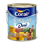 Tinta Acrílica Fosca Branco Coralar Duo 3,6L Coral