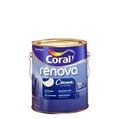 Tinta Acrílica Fosca Branco Creme de Pintura 3,2L - Coral