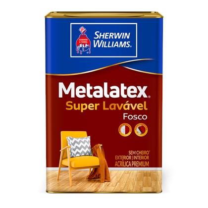 Tinta Acrílica Fosca Branco Metalatex 18L - Sherwin Williams