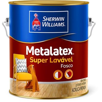 Tinta Acrílica Fosca Branco Metalatex 3,6L - Sherwin Williams