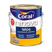 TINTA ACRÍLICA FOSCA CHEGA DE MOFO BRANCO - 3,6L CORAL