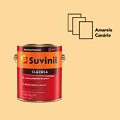 TINTA ACRÍLICA FOSCA CLÁSSICA AMARELO CANÁRIO- 3,6L SUVINIL