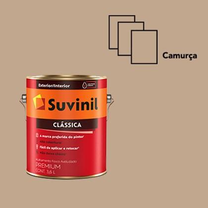 TINTA ACRÍLICA FOSCA CLÁSSICA CAMURÇA - 3,6L SUVINIL