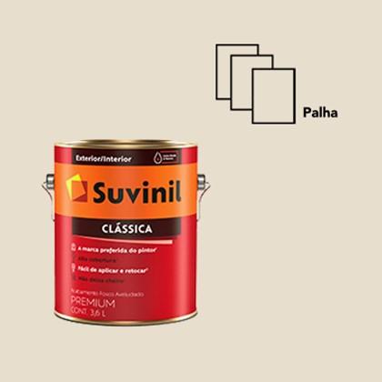 TINTA ACRÍLICA FOSCA CLÁSSICA PALHA - 3,6L SUVINIL