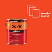 TINTA ACRÍLICA FOSCA CLÁSSICA VERMELHO CARDINAL - 3,6L SUVINIL