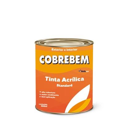 Tinta Acrílica Fosca Cobrebem Branco 900ML  Bellacor