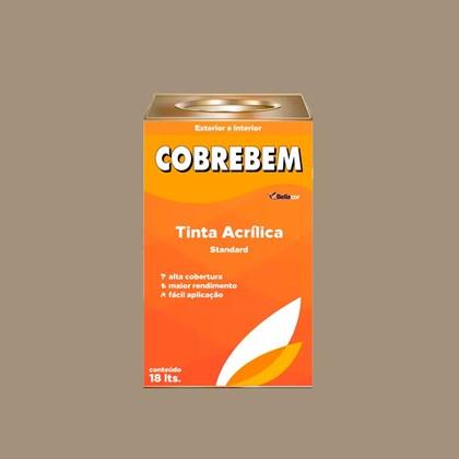 TINTA ACRÍLICA FOSCA COBREBEM CONCRETO - 18L BELLACOR