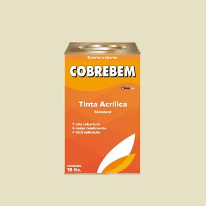 TINTA ACRÍLICA FOSCA COBREBEM MARFIM - 18L BELLACOR