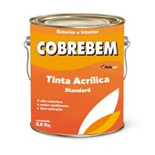 TINTA ACRÍLICA FOSCA COBREBEM VERDE ANGRA- 3,6L BELLACOR