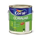 TINTA ACRÍLICA FOSCA CORALAR BRANCO - 3,6L CORAL