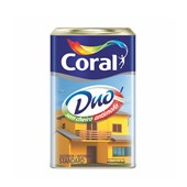 Tinta Acrílica Fosca Coralar Duo 18L Branco Coral