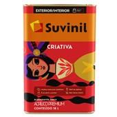 TINTA ACRÍLICA FOSCA CRIATIVA BRANCO  - 18L SUVINIL