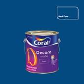 Tinta Acrílica Fosca Decora Matte Azul Puro 3,2L Coral