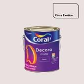 Tinta Acrílica Fosca Decora Matte Cinza Exótico 3,2L Coral