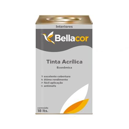 TINTA ACRÍLICA FOSCA ECONÔMICA BRANCA - 18L BELLACOR