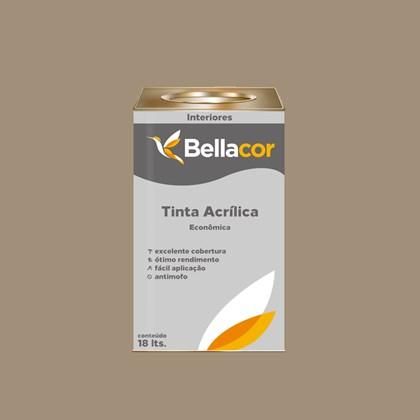 Tinta Acrílica Fosca Econômica Concreto 18L Bellacor