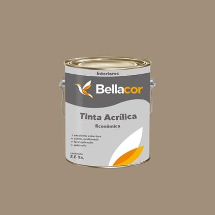TINTA ACRÍLICA FOSCA ECONÔMICA CONCRETO - 3,6L BELLACOR
