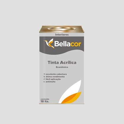 TINTA ACRÍLICA FOSCA ECONÔMICA GELO - 18L BELLACOR