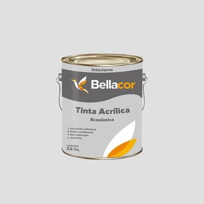 TINTA ACRÍLICA FOSCA ECONÔMICA GELO - 3,6L BELLACOR