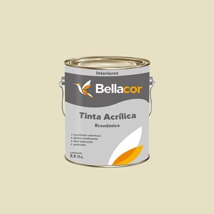 TINTA ACRÍLICA FOSCA ECONÔMICA MARFIM - 3,6L BELLACOR