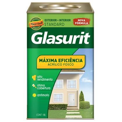 TINTA ACRÍLICA FOSCA MÁXIMA EFICIÊNCIA CROMO SUAVE - 18L GLASURIT