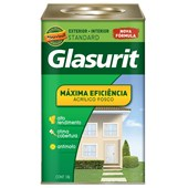 TINTA ACRÍLICA FOSCA MÁXIMA EFICIÊNCIA GELO - 18L GLASURIT