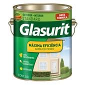 TINTA ACRÍLICA FOSCA MÁXIMA EFICIÊNCIA GELO - 3,6L GLASURIT