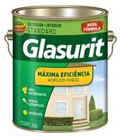 TINTA ACRÍLICA FOSCA MÁXIMA EFICIÊNCIA TREVO DA SORTE - 3,6L GLASURIT
