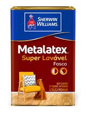 TINTA ACRÍLICA FOSCA METALATEX AREIA - 18L SHERWIN WILLIAMS