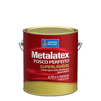 TINTA ACRÍLICA FOSCA METALATEX CINZA URBANO- 3,6L SHERWIN WILLIAMS