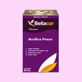 Tinta Acrílica Fosca Premium A04 Rosa Frio 16L Bellacor