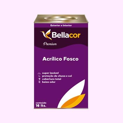 Tinta Acrílica Fosca Premium A07 Rosa Neutro 16L Bellacor