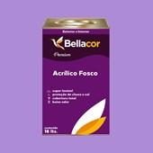 Tinta Acrílica Fosca Premium A12 Lavanda 16L Bellacor