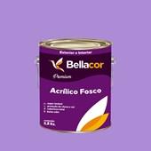 Tinta Acrílica Fosca Premium A12 Lavanda 3,2L Bellacor