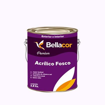 Tinta Acrílica Fosca Premium A16 Banho de Leite 3,2L Bellacor