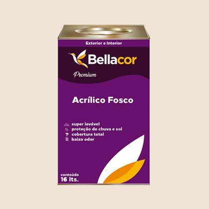 Tinta Acrílica Fosca Premium A20 Aveia e Mel 16L Bellacor