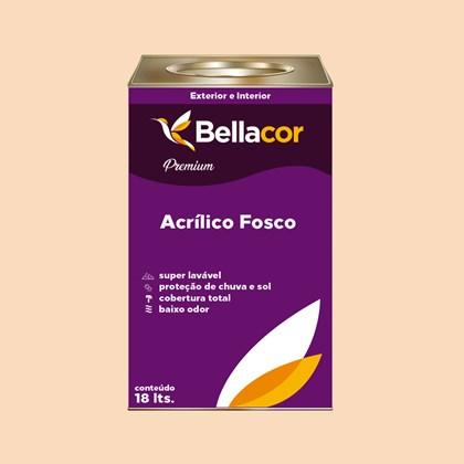 Tinta Acrílica Fosca Premium A23 Toque de Mel 16L Bellacor