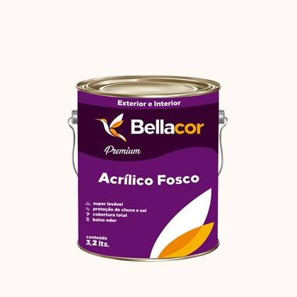 Tinta Acrílica Fosca Premium A26 Branco Nata 3,2L Bellacor