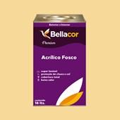 Tinta Acrílica Fosca Premium A30 Amarelo 16L Bellacor