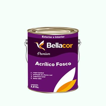 Tinta Acrílica Fosca Premium A31 Verde Suave 3,2L Bellacor