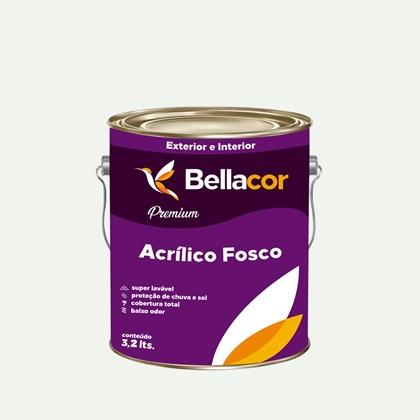 Tinta Acrílica Fosca Premium A34 Banho de Mar 3,2L Bellacor