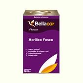 Tinta Acrílica Fosca Premium A37 Verde Casca 16L Bellacor