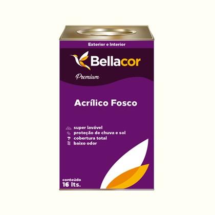 Tinta Acrílica Fosca Premium A40 Passeio nas Nuvens 16L Bellacor