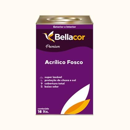 Tinta Acrílica Fosca Premium A43 Espuma 16L Bellacor