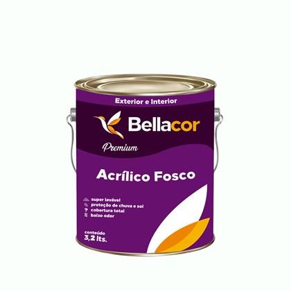 Tinta Acrílica Fosca Premium A46 Limonada 3,2L Bellacor