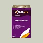 Tinta Acrílica Fosca Premium A48 Verde Água 16L Bellacor